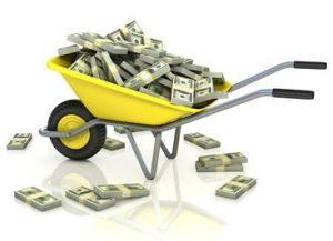 money-wheelbarrow